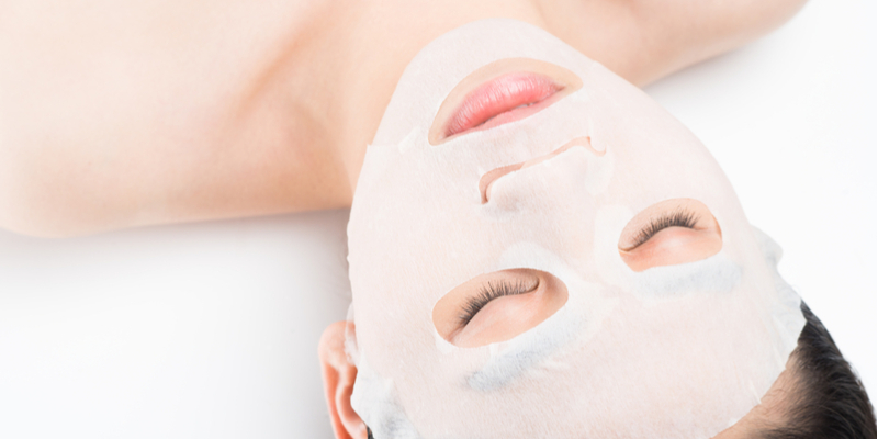Collagen Face Mask by Valmont- Keep the Glow on the Go