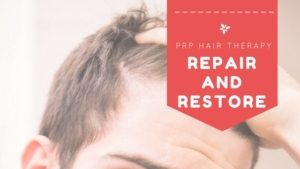 PRP hair restoration treatment
