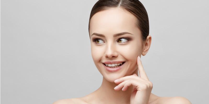 face skin tightening with BTL Exilis Ultra